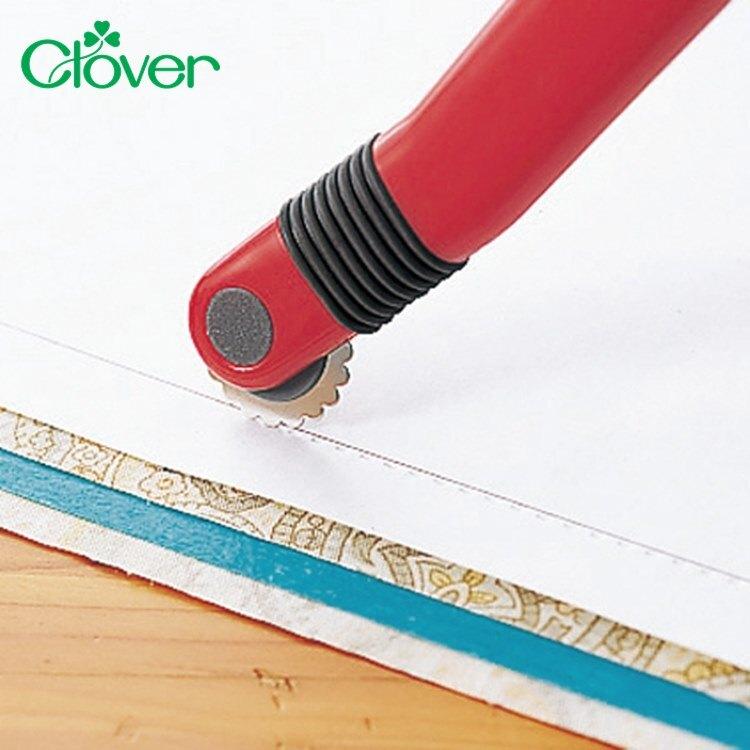 又敗家@日本製造Clover可樂波浪型點線器牌N系列記號器21-041虛線圓齒輪壓線劃布輪記號點線器洋裁縫紉拼布記號工具