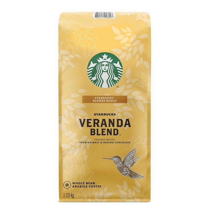星巴克 Starbucks Veranda Blend 黃金烘焙綜合咖啡豆 1.13公斤