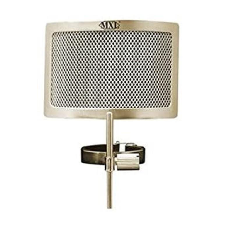 MXL PF-004-C 金屬網 防噴麥口水罩 香檳色 總代理公司貨
