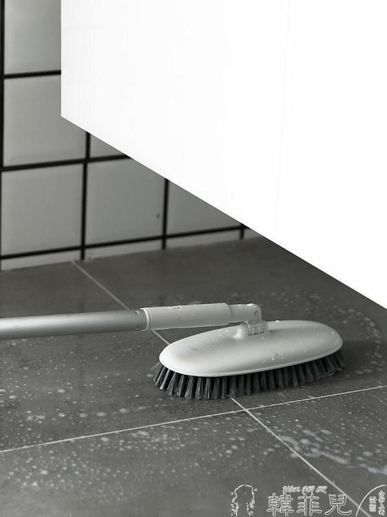 電動清潔刷 瓷磚浴室地板刷衛生間刷地刷子長柄廚房硬毛地刷非無線電動清潔刷 母親節新品