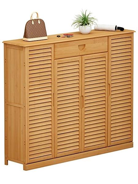 鞋櫃簡易家用門口室內好看多層經濟型收納置物架實木宿舍防塵鞋架 【母親節禮物】