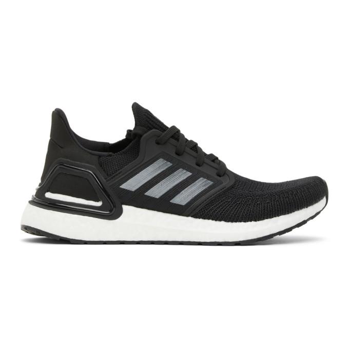 adidas Originals 黑色 Ultraboost 20 运动鞋