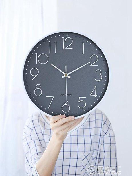 掛鐘創意時尚個性客廳掛鐘石英鐘錶掛牆家用掛錶現代簡約北歐大氣時鐘全館特惠限時促銷