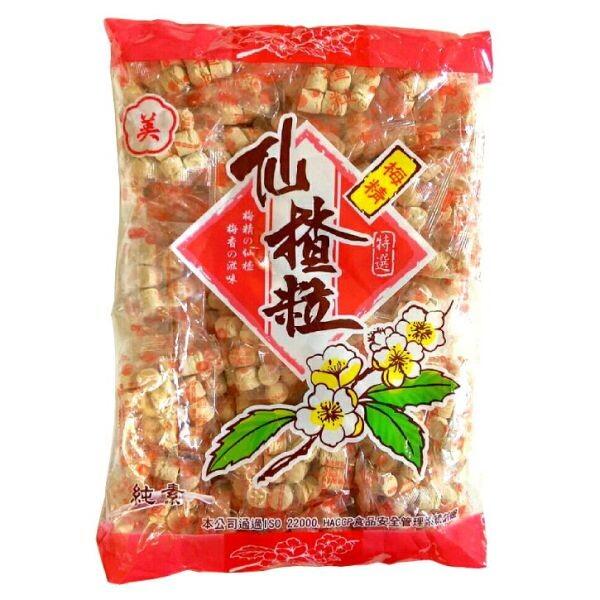 美梅精 仙楂粒 600公克/包