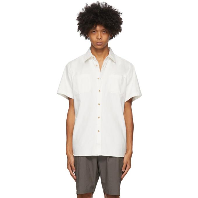 Saturdays NYC 白色 Centre 丹宁短袖衬衫
