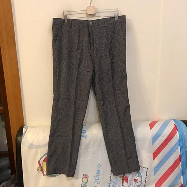 韓版百搭基本款高腰顯瘦西裝褲(36碼/777-186)