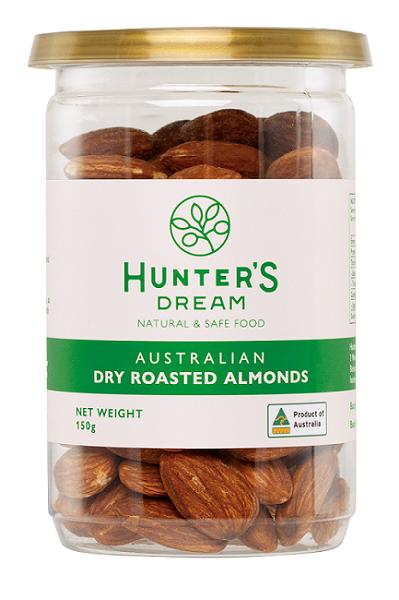 (買一送一)澳洲頂級鮮烘杏仁果150克