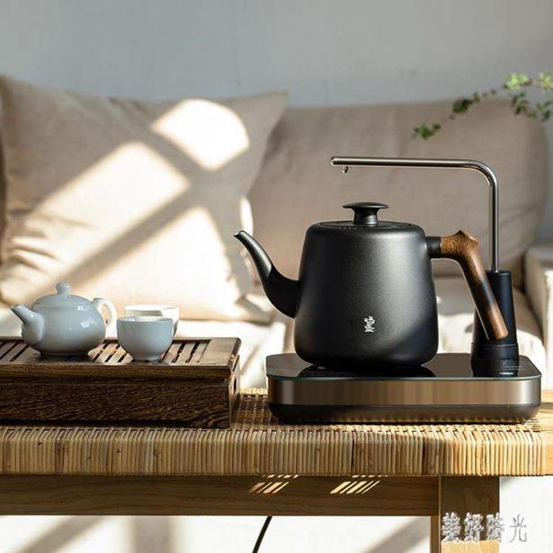220V 鳴盞電陶爐上水煮茶家用辦公室玻璃燒水單壺泡茶茶壺茶具套裝水壺 6697全館特惠限時促銷