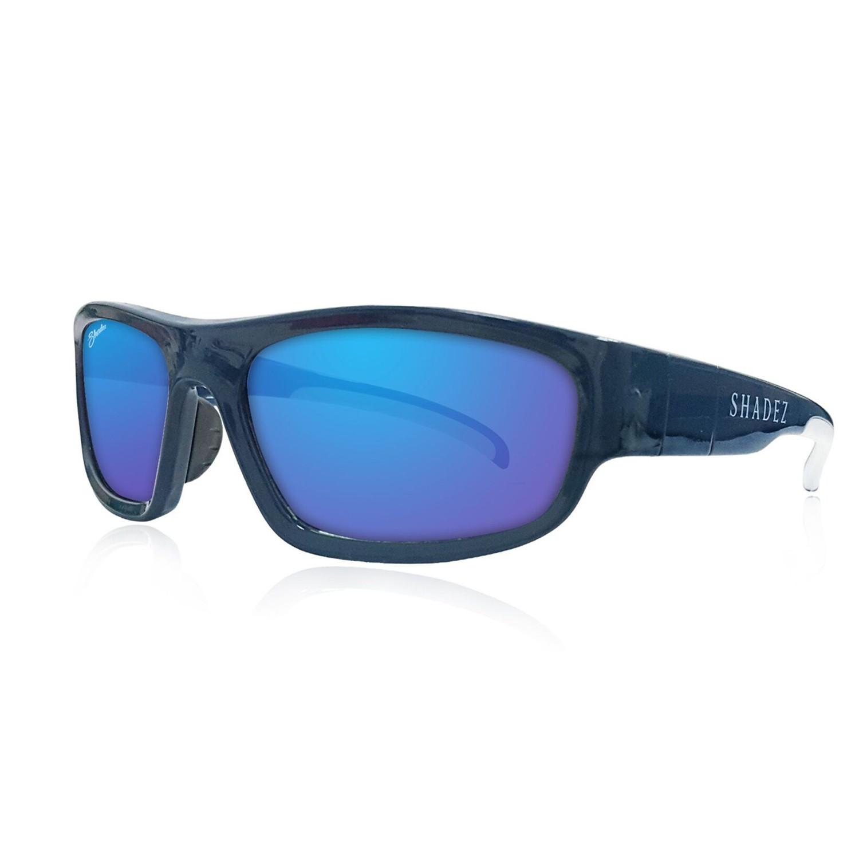 SHADEZ - SHADEZ兒童太陽眼鏡-運動款-海洋藍 (7Y~16Y)