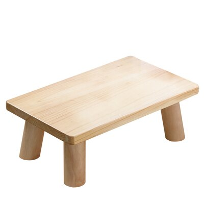 榻榻米桌 日式燒桐木飄窗桌子小茶几簡約榻榻米矮桌子圓地桌炕几實木小方桌『CM37683』