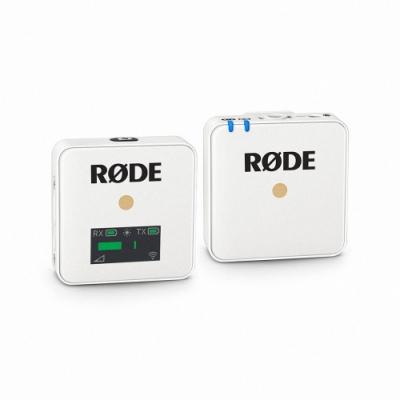 RODE WIRELESS GO白色微型無線麥克風(RDWIGOW)