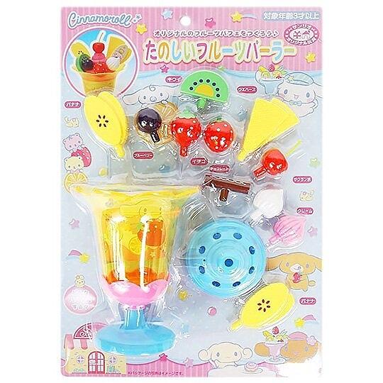 小禮堂 大耳狗 水果聖代玩具組 食物玩具 扮家家酒 (粉藍泡殼) 4550337-47914