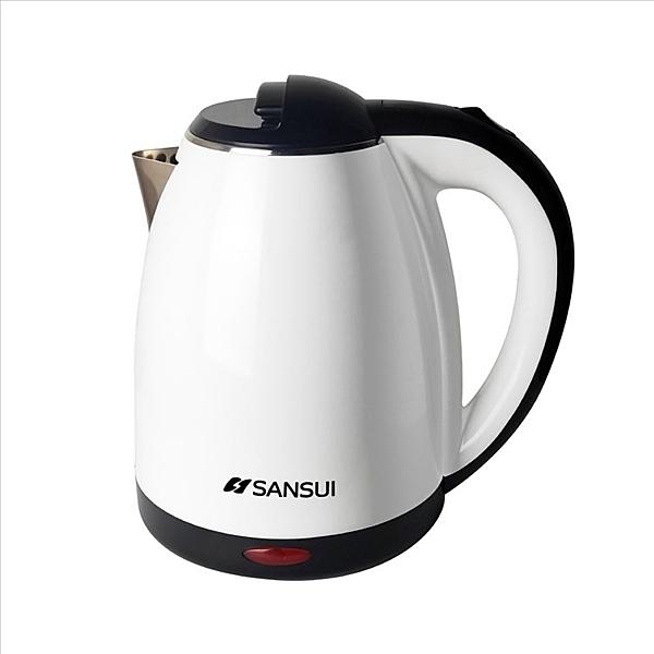 《結帳打85折》SANSUI山水【SWB-12T】1.8L雙層防燙不銹鋼保溫快煮壺