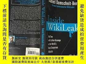 二手書博民逛書店Inside罕見Wikileaks維基解密(英文原版)Y1999