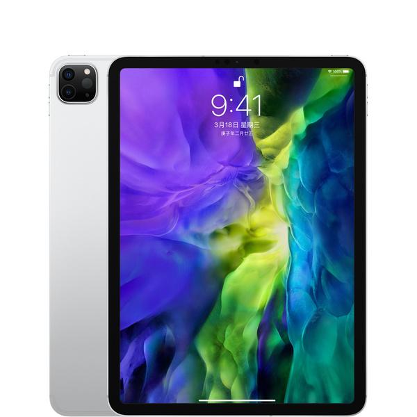 11 吋 iPad Pro - Wi-Fi + 行動網路 128GB - 銀色 - Apple - MY2W2TA/A