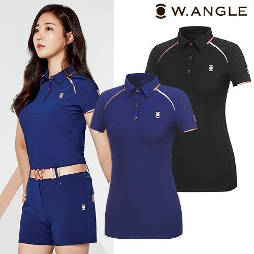 韓國W.angle Golf / 女性高爾夫W限量短袖襯衫