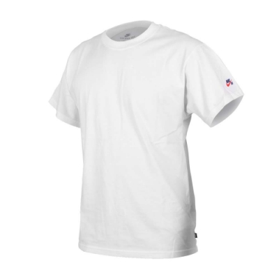 NIKE 男休閒短袖T恤-慢跑 運動 純棉 上衣 CW6946-100 白