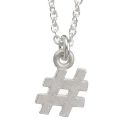 Dogeared #項鍊 符號 hashtag項鍊 創造專屬標籤 925純銀 許願項鍊 附原廠盒