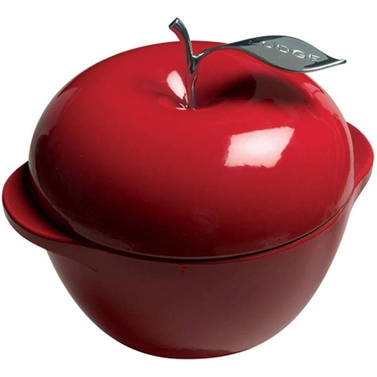 Lodge Enamel 3QT紅蘋果琺瑯鍋 E3AP40