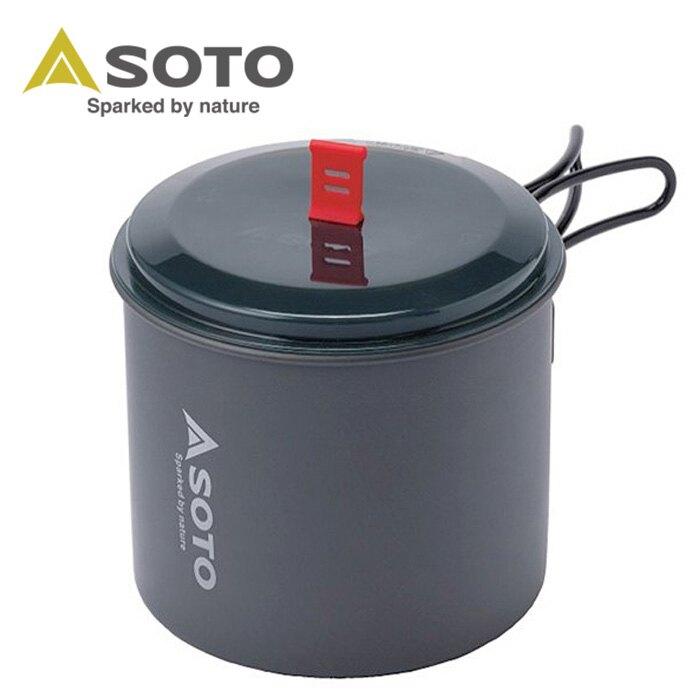 【SOTO 日本】鋁合金個人鍋具 M 登山鍋具 (SOD-511)