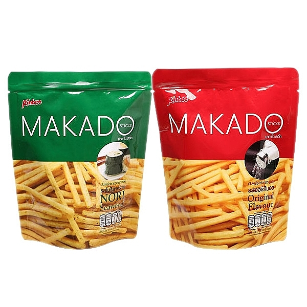 MAKADO 麥卡多薯條(27g) 鹽味/海苔【小三美日】