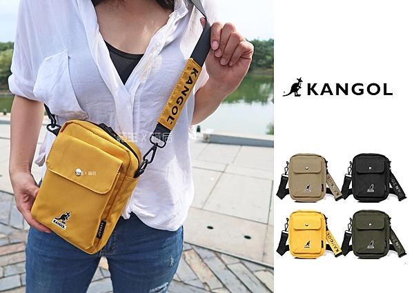 英國 KANGOL 袋鼠包 潮流小包 尼龍包 側背包 斜背包 隨身小包 男女通用 正版公司貨