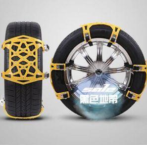 汽車防滑鍊 汽車輪胎雪地防滑鏈條小轎車越野車suv通用型牛筋神器自動收緊T