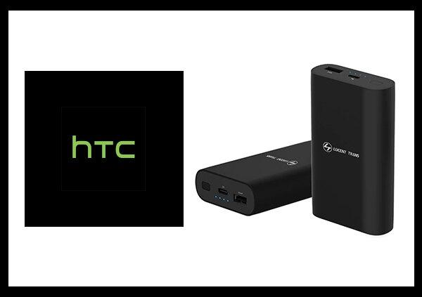 HTC 原廠 QC 3.0 21W快充行動電源 USB Type-C / 9,750 mAh 台灣公司貨