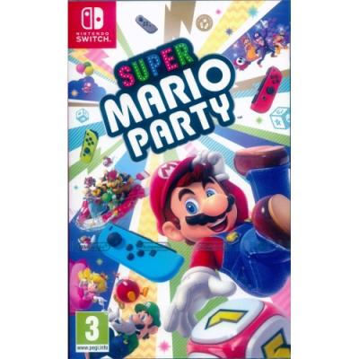 超級瑪利歐派對 Super Mario Party - NS Switch 中英日文歐版