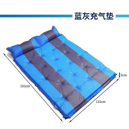 充氣床墊 氣墊床墊充氣便攜雙人戶外野營加厚加大防水家用辦公室午休空氣床 『MY5897』