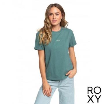 【ROXY】SURFING IN RHYTHM B T恤 灰綠