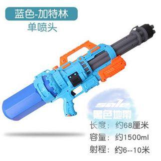 兒童水槍 兒童呲水槍玩具噴水槍戲水抽拉式小孩打水仗神器超大號男孩大容量T