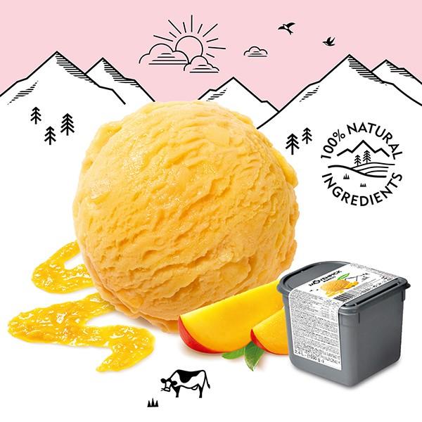 Movenpick 莫凡彼冰淇淋 芒果雪酪2.4L家庭號