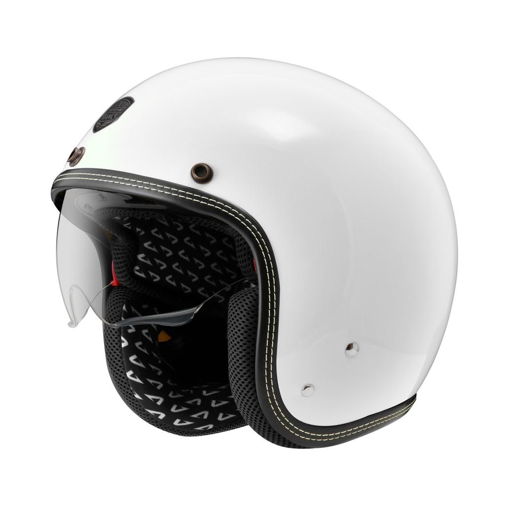 【ASTONE】SP3 素色 (白) 復古帽 安全帽 內襯可拆洗