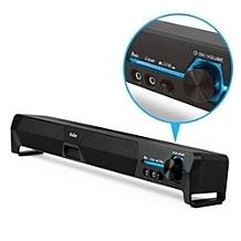 【超人百貨O】USB家庭劇院 單件式雙聲道立體聲喇叭 雙40mm喇叭單體,完美呈現重低音