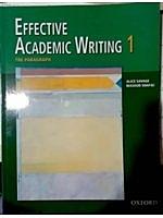 二手書博民逛書店《Effective Academic Writing 1: T