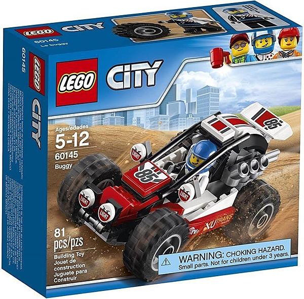 LEGO 樂高 City Great Vehicles Buggy 60145建築套件