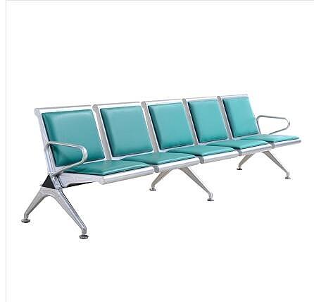 排椅三人位不銹鋼連排椅沙發候診椅輸液椅等候椅公共座椅機場椅 酷男精品館
