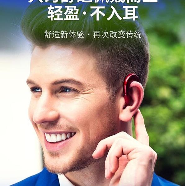 無線藍芽耳機掛耳式運動骨傳導概念不入耳塞適用華為vivo蘋果oppo 居家物語