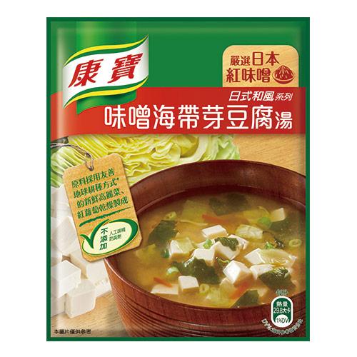 康寶濃湯-味噌海帶芽豆腐湯-34.7gx2