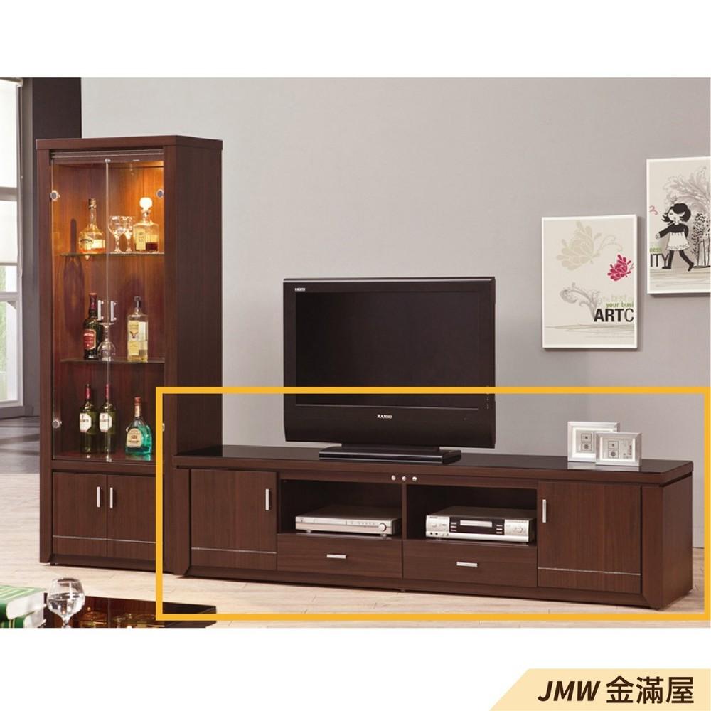 211cm 尺電視櫃金滿屋客廳組合長櫃 展示收納櫃 北歐工業風 tv櫃-sh389-4