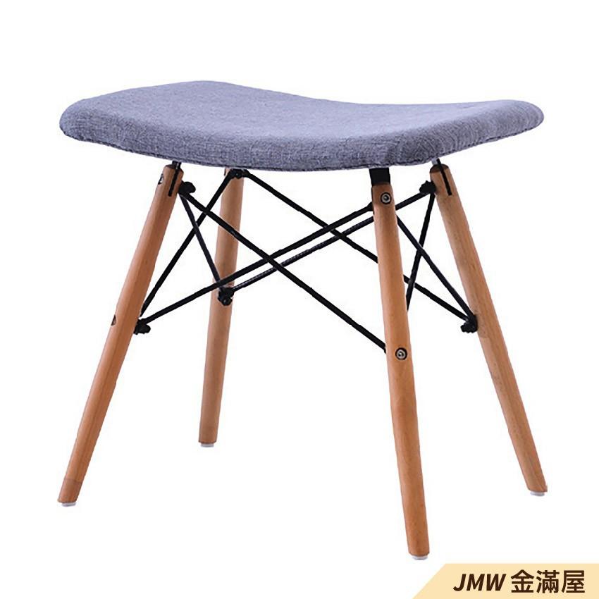 寬49cm餐椅 北歐工業風 書桌椅 長凳 實木椅 皮椅布椅 餐廳吧檯椅 會議椅【金滿屋】E781-7