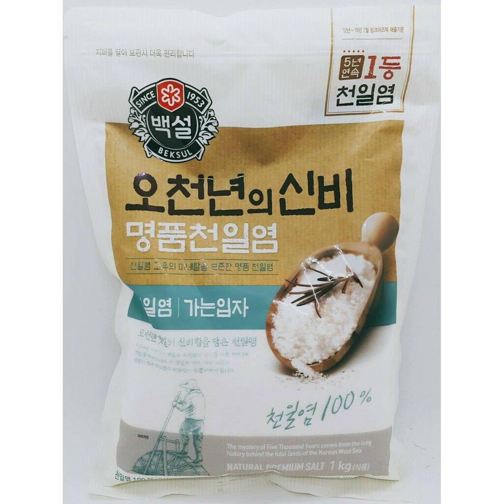 韓國 CJ海鹽 大象海鹽 粗鹽 細鹽 海鹽 鹽 1KG