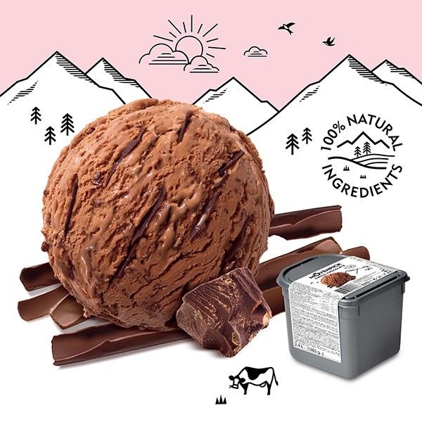 Movenpick 莫凡彼冰淇淋 金典巧克力 2.4L家庭號