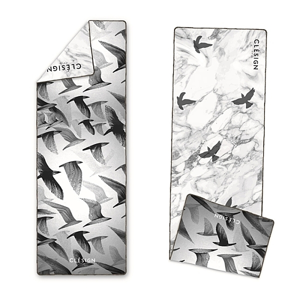 【Clesign】OSE ECO YOGA TOWEL 瑜珈舖巾 - D10 Free Bird
