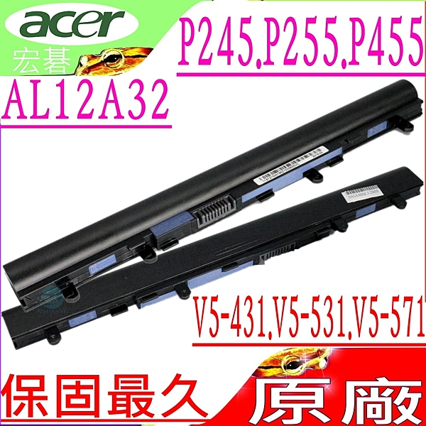 ACER 電池(原廠)-宏碁 AL12A32電池,AL12A72電池,P245,P255,P455,P245-MG,P455-M,4ICR17/65,MS2360
