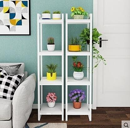 花架小型家用置物架客廳陽臺鐵藝多層綠蘿落地式花盆植物架子