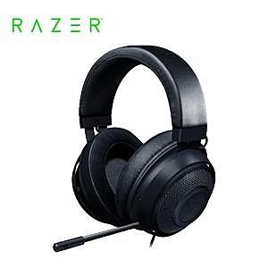 【綠蔭-免運】雷蛇Razer Kraken X 北海巨妖黑 電競耳機麥克風