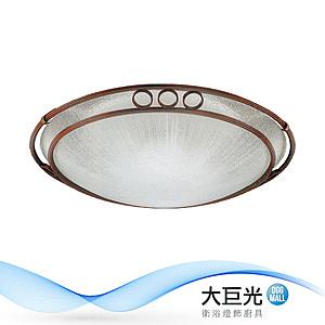 【大巨光】古典風6+1燈吸頂燈-中(BM-22051)