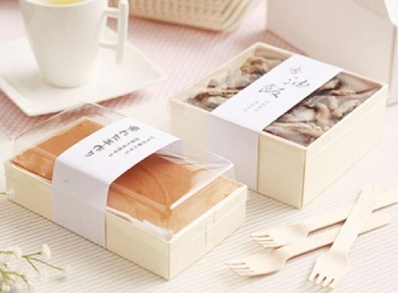 4種尺寸 木餐盒 包裝盒 月餅盒 木頭盒 餅乾盒 鳳梨酥盒 蛋黄酥盒 牛軋糖盒 包裝盒外帶盒c112